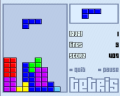Classic Tetris Game Flash Game